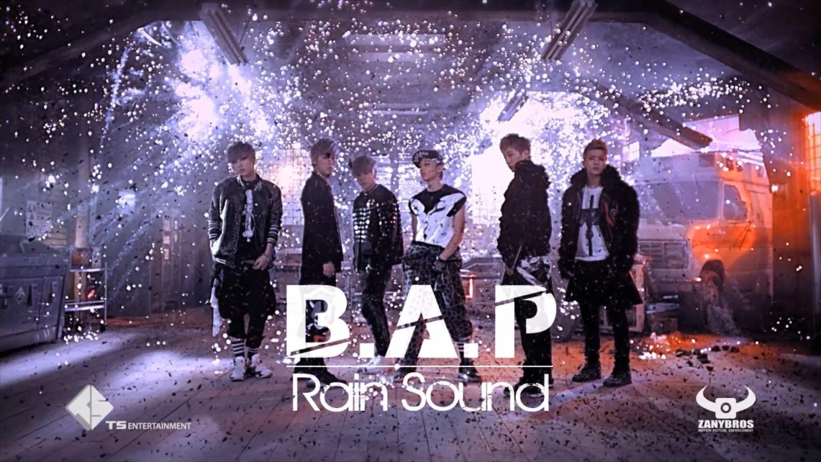 Kpop music videos: [download] [mv] b. A. P 빗소리 (rain sound.