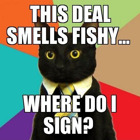 Resultado de imagen para I smell fishy