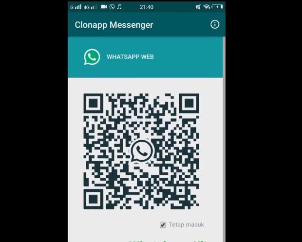 Cara Membobol Akun WA Orang Lain Via Clonapp Messenger Terbaru 2019 iv