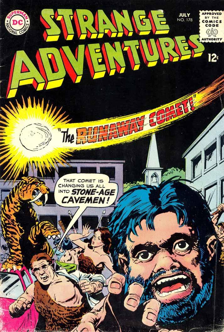 Strange Adventures (1950) issue 178 - Page 1