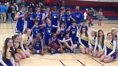 Catholic Middle School Boys Named CCC Champions for Second Consecutive Year 1