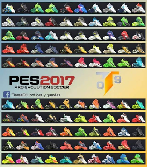 New Bootpack PES 2017