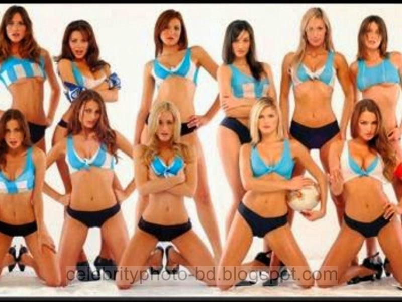 World Cup 2014 Argentina's Sexy Girls Supporter And Fans Photos