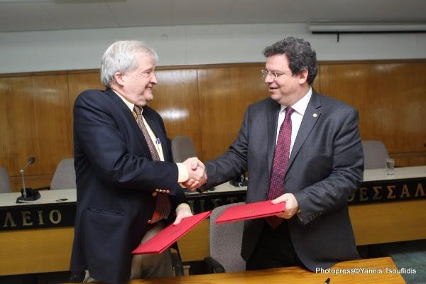 Μνημόνιο Συνεργασίας μεταξύ του ΑΠΘ και του Κέντρου Ελληνικών Σπουδών του Πανεπιστημίoυ Harvard