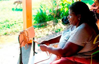 FSS e município mantém abertas as inscrições para o curso de taboa na casa do artesanato, no porto da balsa