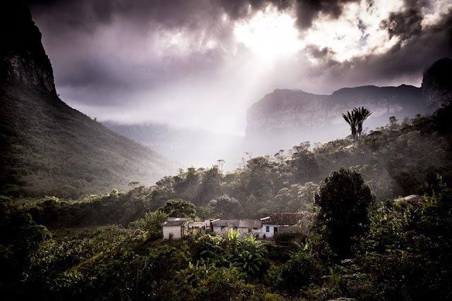 Casa de Dona Raquel, Vale do Pati Chapada Diamantina Bahia (Foto: Reprodução/Facebook: Peu Robles)