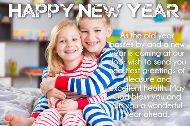 Happy New Year 2018 Wishes For Sister