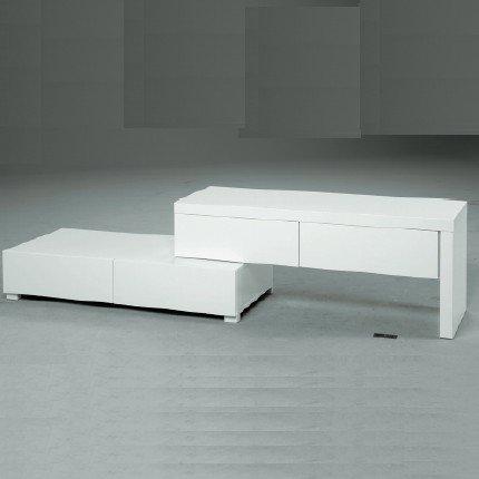 meuble tv alinea blanc meuble tv. Black Bedroom Furniture Sets. Home Design Ideas