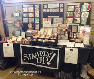 Mayra S Stampin Place Fall Vendor Fair