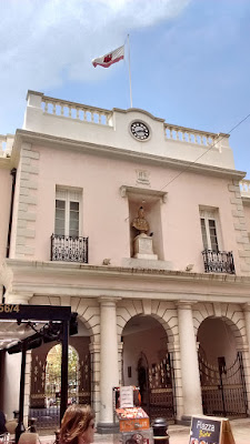 Photo of the Gibraltar Parliament building, headquarters of self-government in the highly-autonomous British territory.