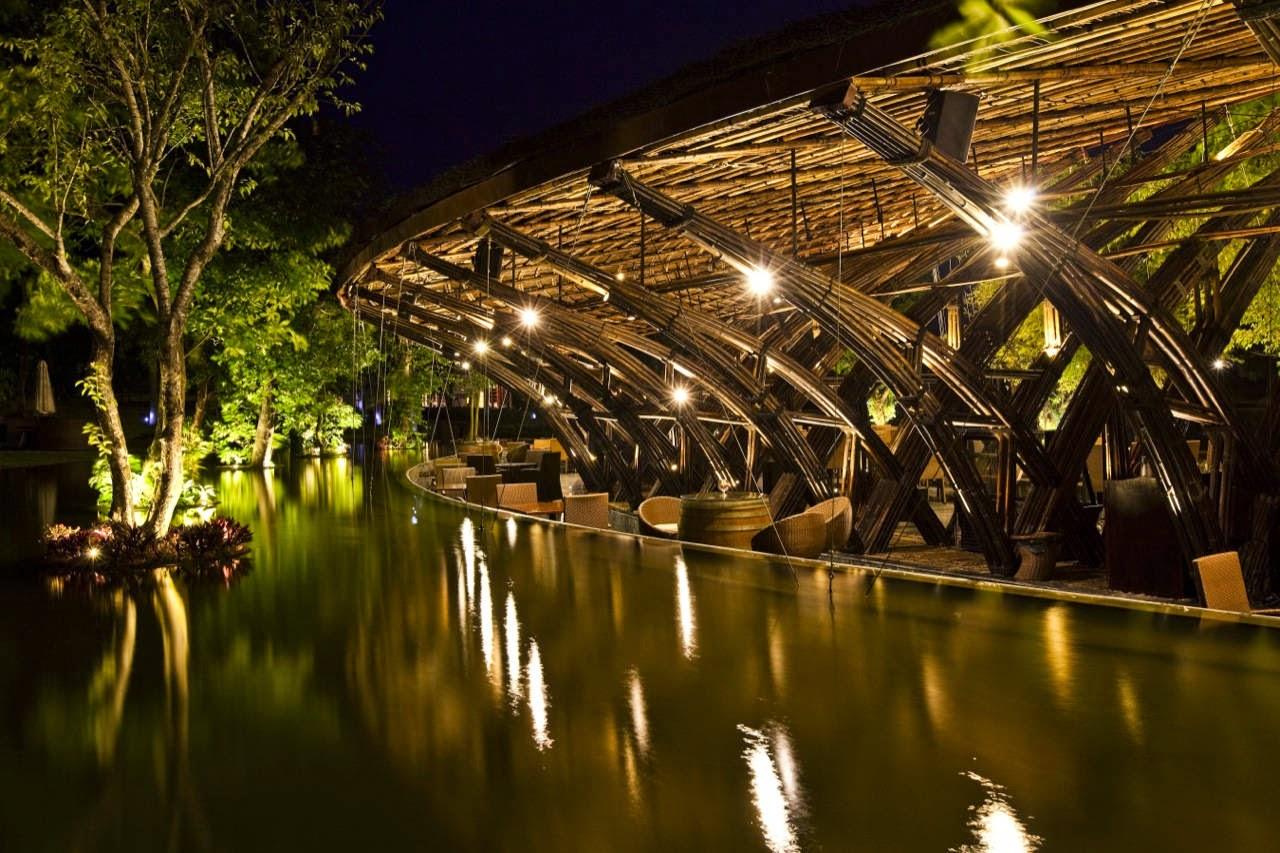 Resultado de imagem para O bambu na arquitetura sustentável
