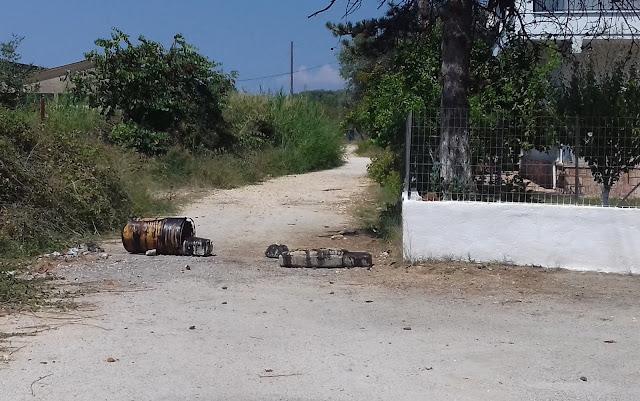Ηγουμενίτσα: Δρόμος σπαρμένος με πέτρες (ΦΩΤΟ+ΒΙΝΤΕΟ)