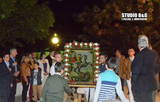 Γιόρτασαν τον Άγιο Γεώργιο στα Πυργιώτικα Ναυπλίου