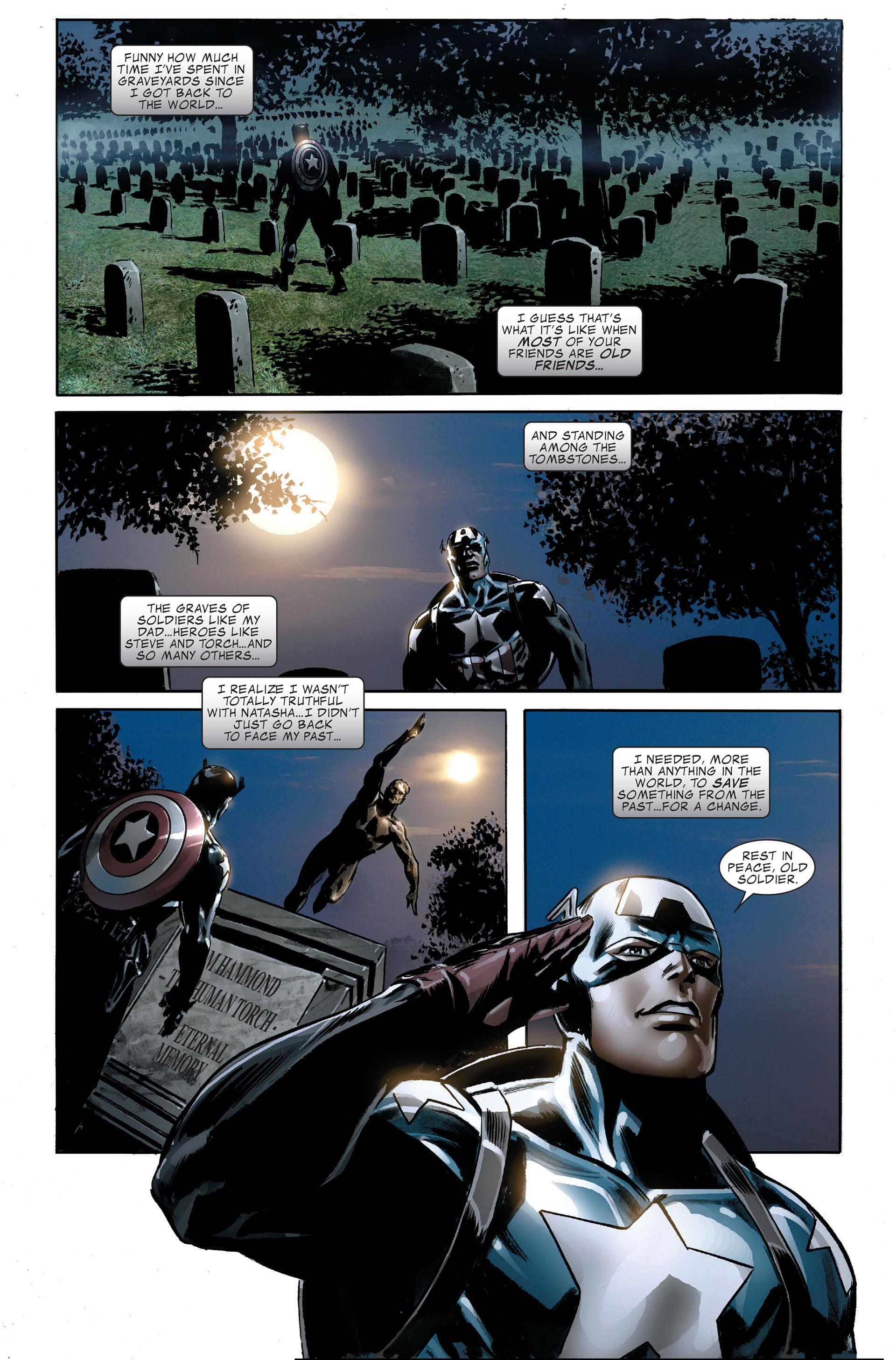 Read online Captain America (2005) comic -  Issue #48 - 24