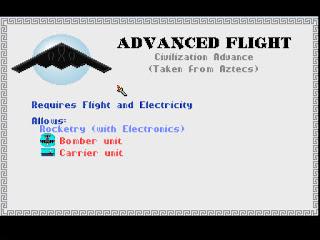 Advanced Flight