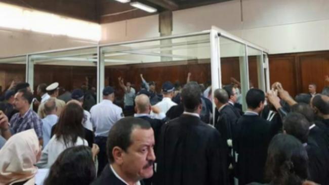 قرار محكمة الدار البيضاء في حق الزفزافي ورفاقه