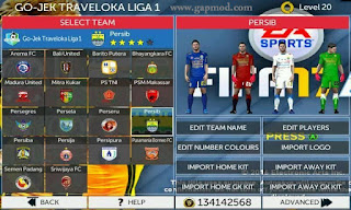 FTS Mod FIFA 17 Soccer v3 by Anwar Apk + Data Android