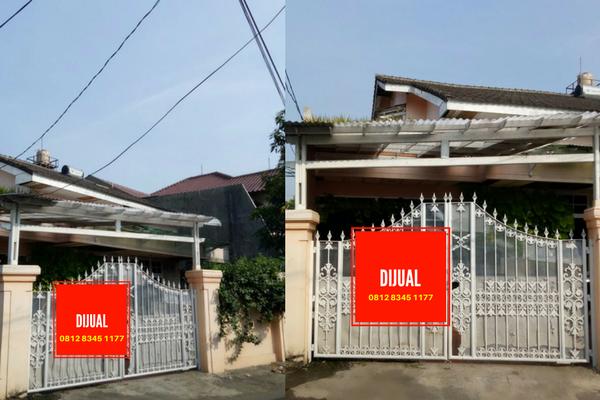 Rumah Dijual Hadap Timur Pangkalan Jati Jakarta Timur
