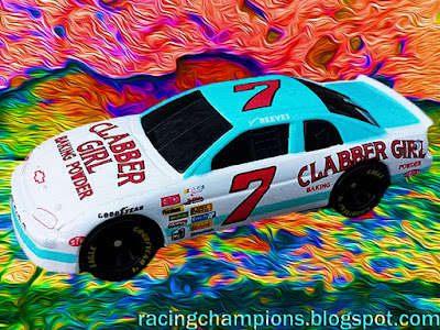 Stevie Reeves #7 Clabber Girl Chevrolet Racing Champions 1/64 NASCAR diecast blog 1995 Ed Whitaker BGN Busch