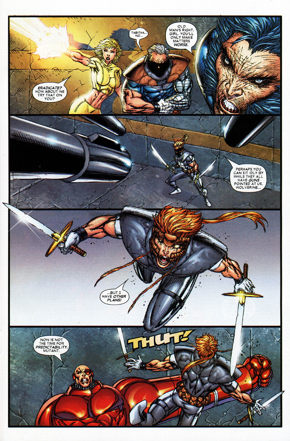 Read online X-Force (2004) comic -  Issue #4 - 23