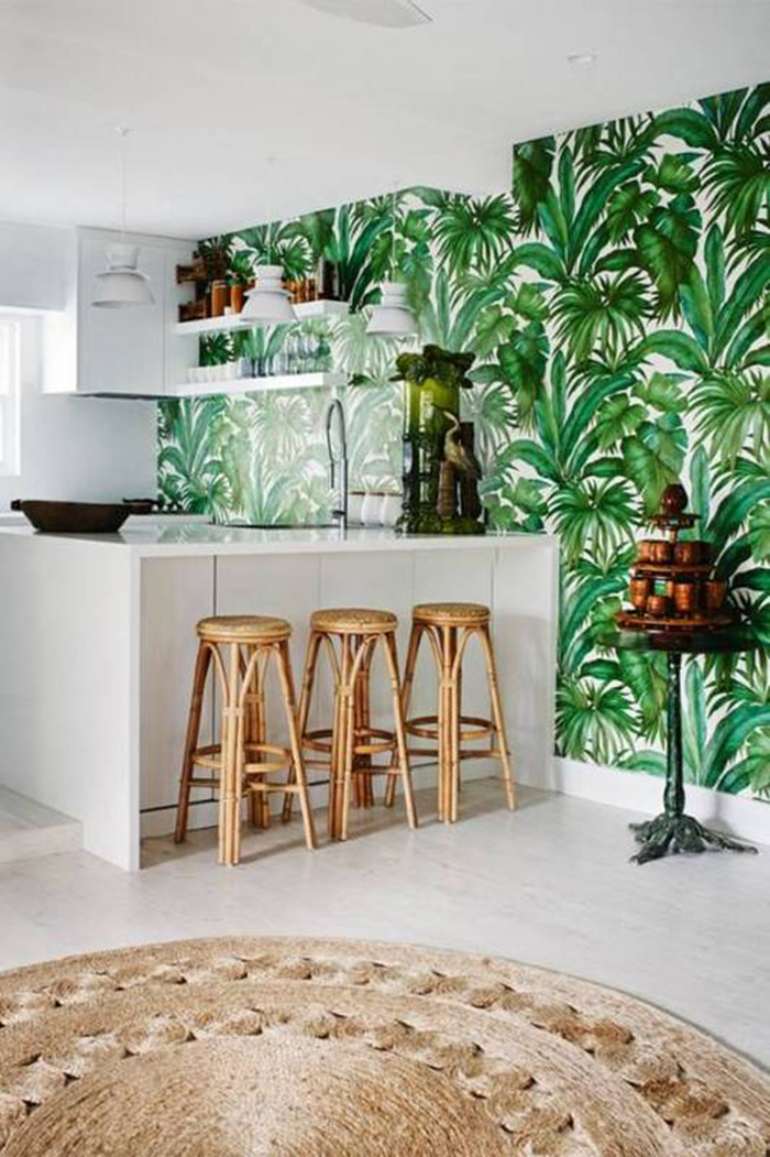 Miami inspired tropical decor ideas ohoh blog for Tropical themed kitchen