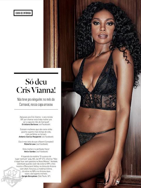 Fotos de Yanna Lavigne nua na Revista VIP
