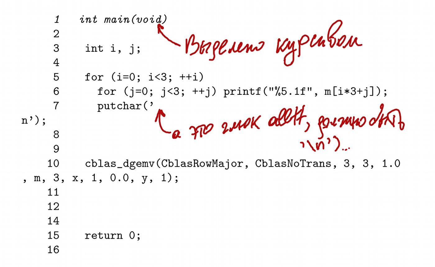Как оформить исходный код программ в LaTeX без адских страданий
