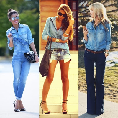 Desde que foi criado, em 1872, o jeans nunca saiu de moda. Com novas  releituras dos anos 70, 80 e 90, principalmente, ele volta ao cenário  fashion bem ... 518ae07f62