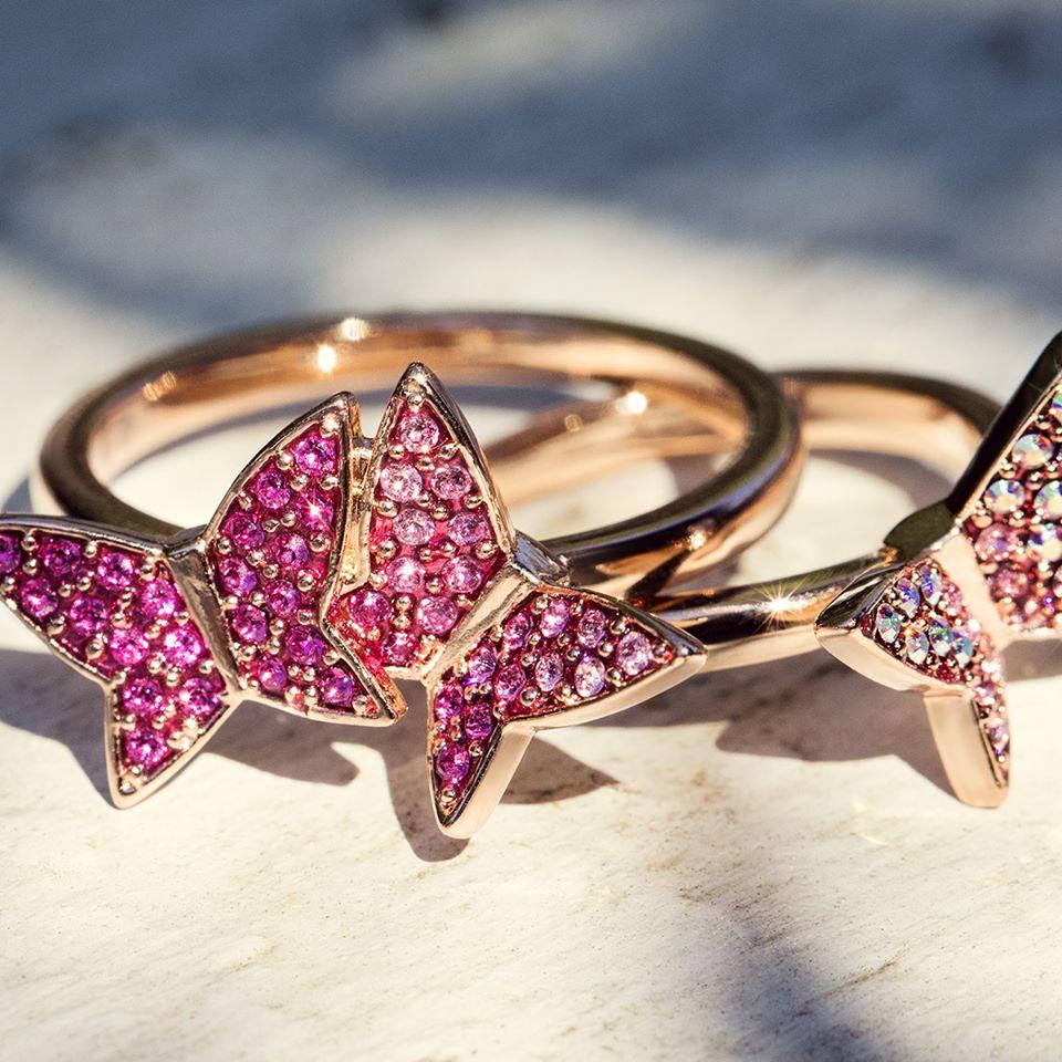 Swarovski-anelli-farfalle