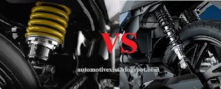 jenis suspesi kendaraan bermotor roda dua yang berkembang saat ini terbagi menjadi dua je Suspensi Monoshock VS Dualshock Bagus Mana? Awas Jangan Salah Pilih Ya