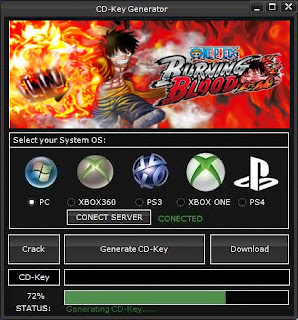 One Piece Burning Blood CD Key Generator (Free CD Key)