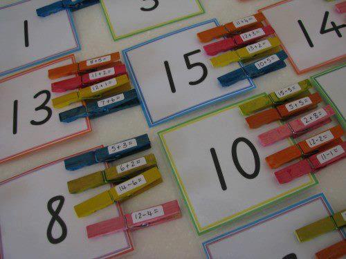 Educando A Los Chiquitines Mas Ideas Para Ensenar Matematicas Con