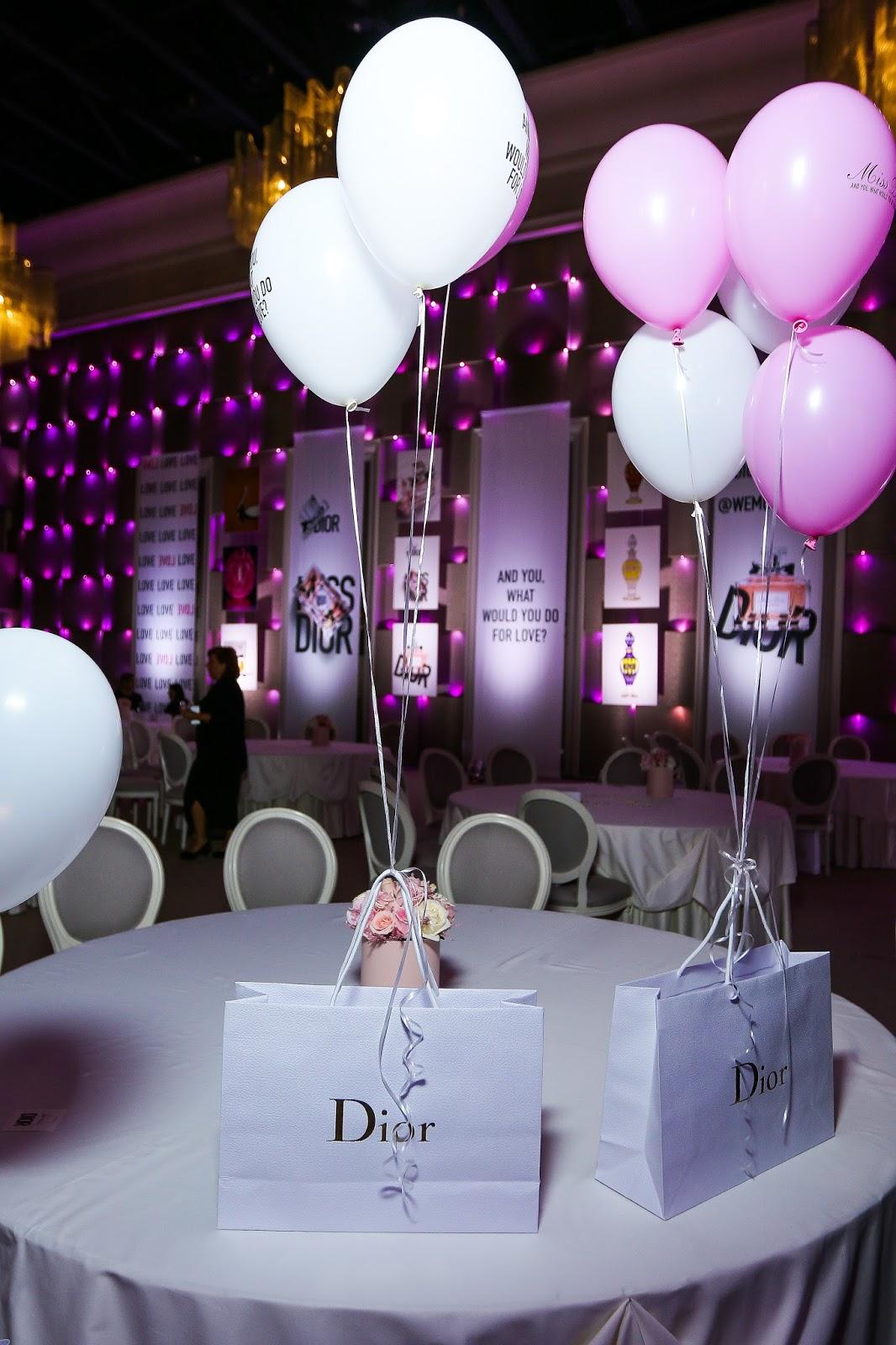 подарки блогерам от Dior