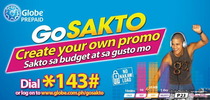 Globe Prepaid GoSakto
