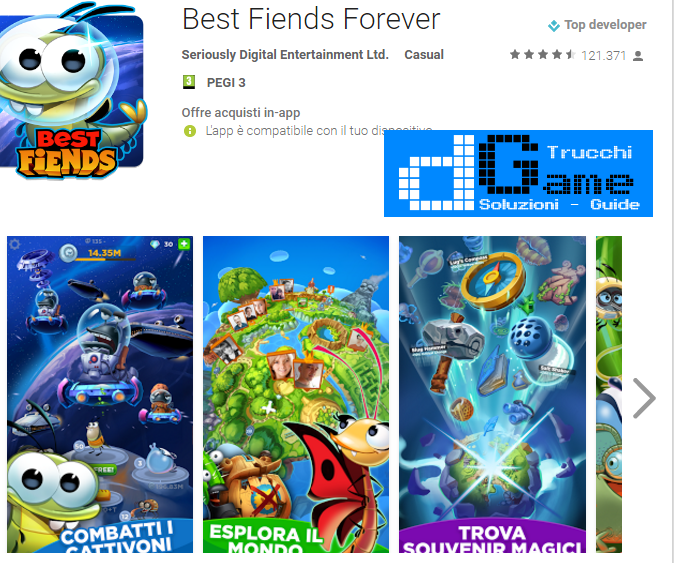 Trucchi Best Fiends Forever Mod Apk Android v2.3.1