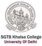 SGTB Khalsa College Recruitment 2017