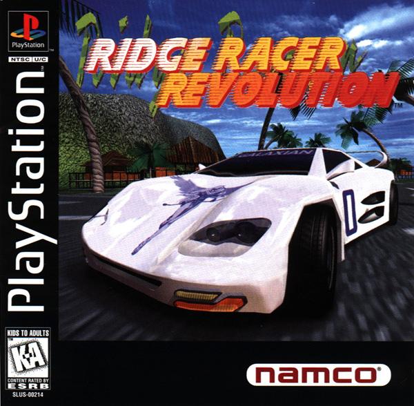 Ridge Racer Revolution - PS1 - ISOs Download