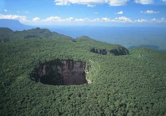 Tepui, Pulau Diatas Hutan Venezuela
