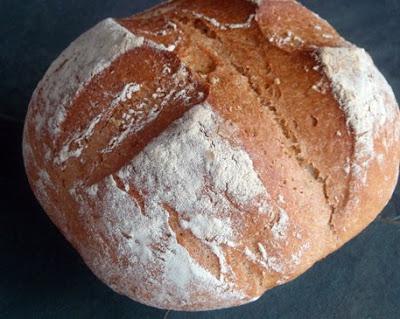 amasado manual del pan