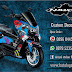 decal NMAX hoonigan Blue
