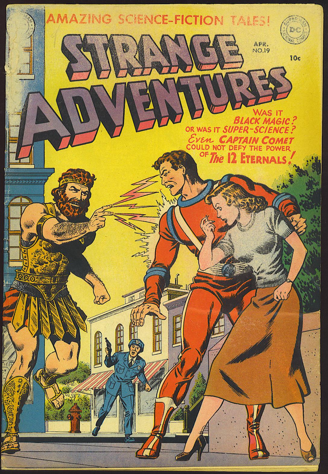 Strange Adventures (1950) issue 19 - Page 1
