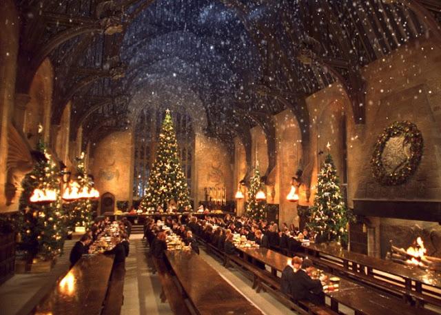 Fans de Harry Potter podrán cenar en Hogwarts para esta navidad