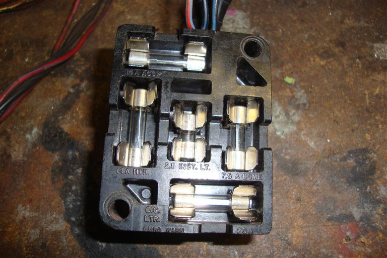 1967 fastback oem style replacement fuse block source
