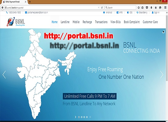 BSNL upgraded Online Payment Portal for better user experience || Create your account today for more added features