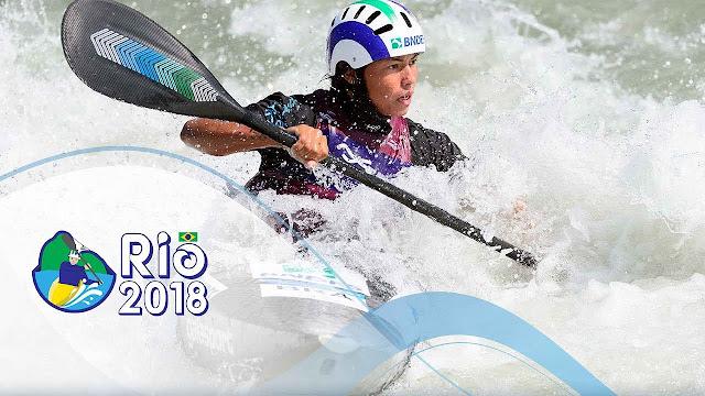 PIRAGÜISMO - Mundial slalom 2018 (Río de Janeiro, Brasil)