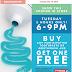 限今天6pm-9pm Shoppers牙膏买一送一