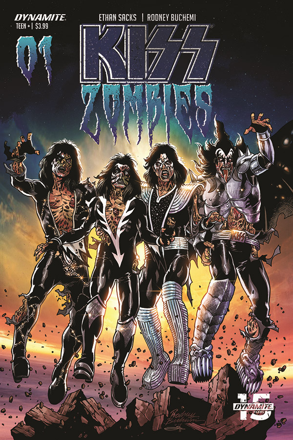 KISS Take Down Zombies in New Comic Series