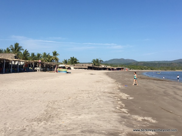 beach at Las Islitas in San Blas on Riviera Nayarit in Mexico