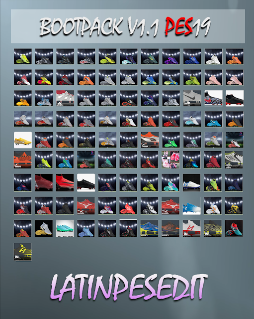 PES 2019 Bootpack v1.1 by LPE09