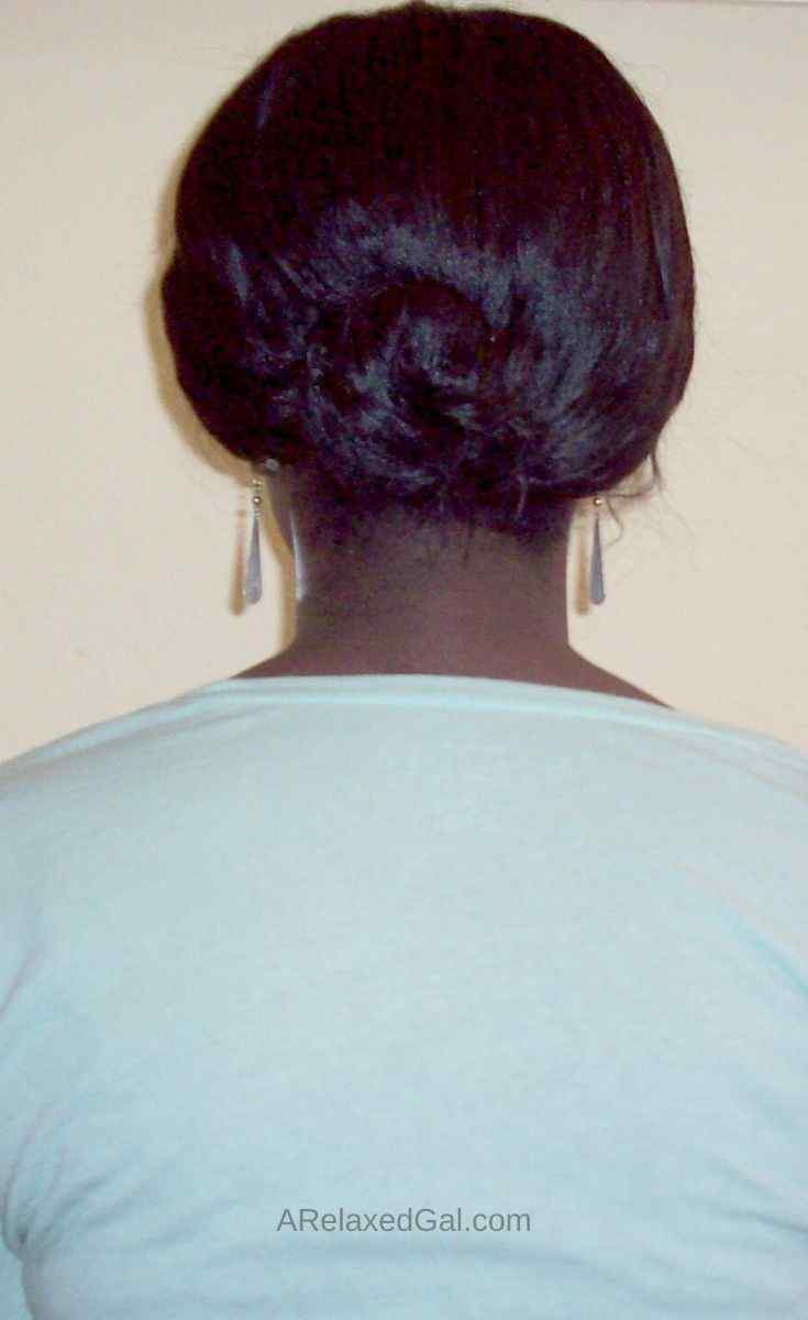 11 Weeks Post Relaxer: Detangling In Sections | A Relaxed Gal